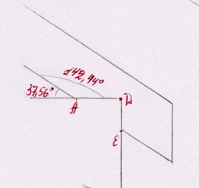 Двускатная крыша. Как сделать крышу. Расчет длины стропила