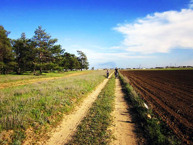 Велопрогулка в деревне