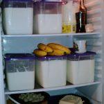 молоко в холодильнике 1